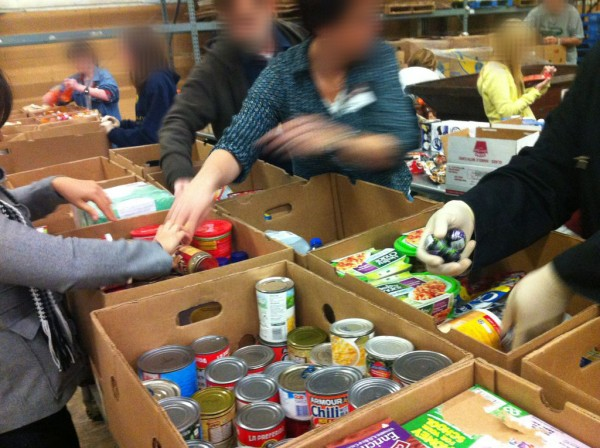 essay on volunteering at food bank