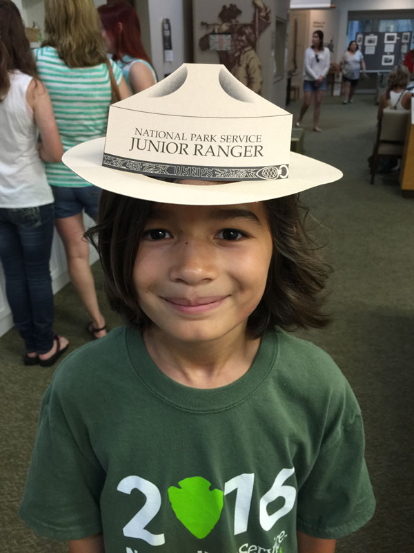 Fort_Frederica_junior_Ranger_hat
