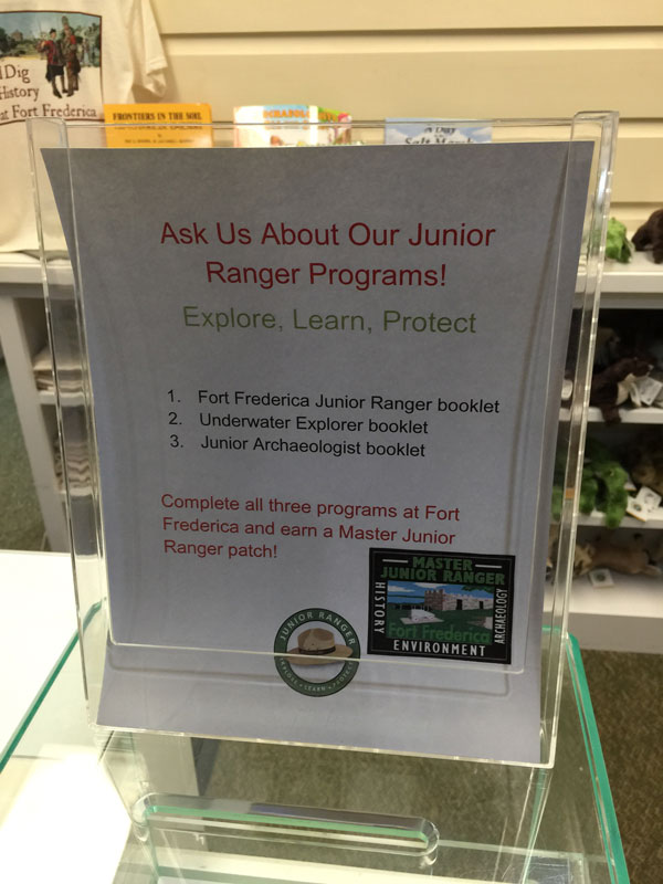 Fort_Frederica_junior_ranger_invite