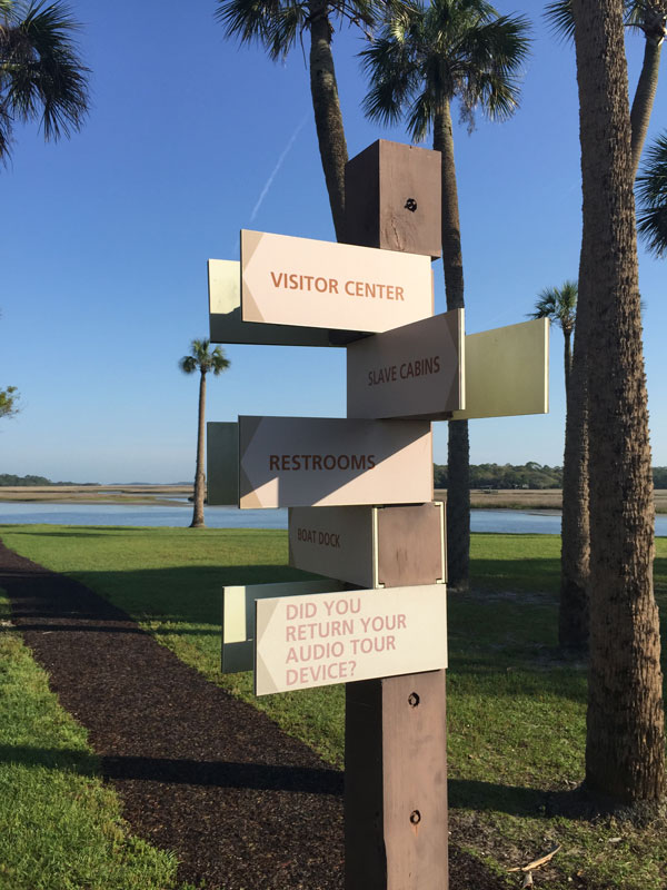FollowGreg_KingsleyPLantation_Signposts
