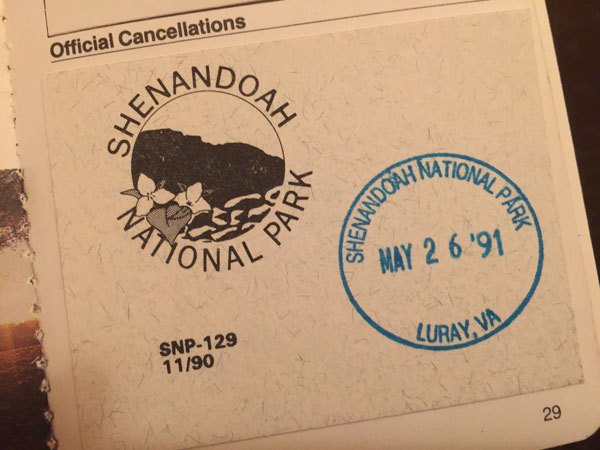 FollowGreg_ShenandoahStamp_1991